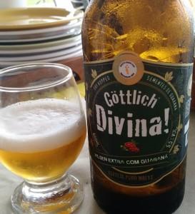 Brazilské pivo s výtažkem guaraná