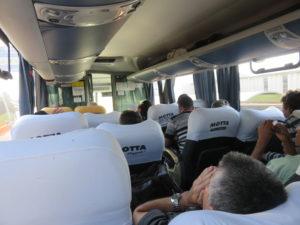 V rukou šoférů dálkových autobusů firmy Motta